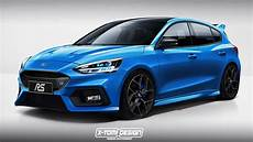 ford focus rs 2020 2020 ford focus rs speculatively rendered