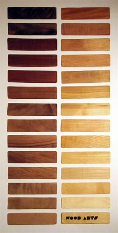Natural Wood Colors Chart Wood Color Chart On Behance