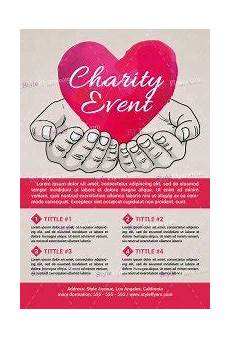 Charity Event Flyer Templates Free Charity Event Psd Flyer Template