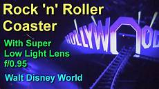 Rock N Roll Roller Coaster Lights On 2018 Rock N Roller Coaster On Ride Front Seat Super