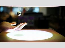 ZeroN magnetic levitation system can play back movements