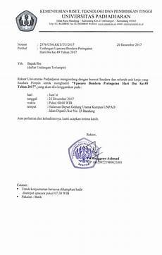 gambar surat undangan setengah resmi tentang peringatan