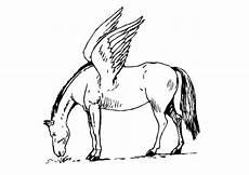 malvorlage fliegendes pferd ausmalbild 9093