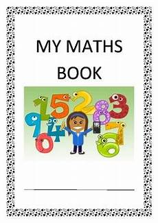 Maths Cover Page Design Maths Book Cover Page By Thiskindylife Teachers Pay Teachers