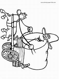 cowboy color page printalbe coloring pages for
