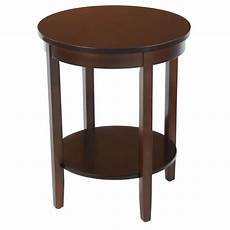 accent tables bay shore collection accent table with wood top