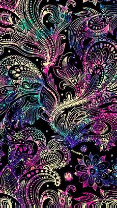 neon floral iphone wallpaper neon paisley galaxy wallpaper androidwallpaper