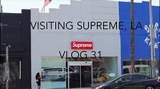 store supreme visiting the supreme store