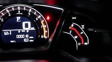 Honda Civic Dashboard Lights Out Honda Civic Hatckback 2018 Night Dashboard Amp Indoor Light