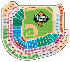 Minute Park Seating Chart With Rows And Seat Numbers Minute Park Houston Tx Seating Chart View