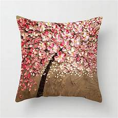 Sofa Pillows Decorative Sets Brown 3d Image by Non 3d Printed Flower Tree Cotton Linen Decorative Throw
