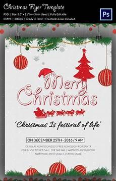 Christmas Flyer Templates Free 60 Christmas Flyer Templates Free Psd Ai Illustrator