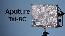 Amaran Led Light Review Aputure Amaran Tri 8c Led Panel Light Review Youtube