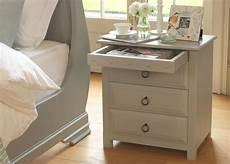 Bedside Cabinets Wooden Bedside Cabinet With Secret Drawer