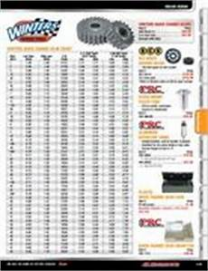Winters Gear Chart Winters Quick Change In Racing Parts 2009 By Jr Motorsports