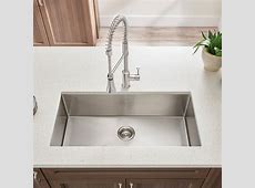 Pekoe Extra Deep Undermount 23x18 Single Bowl Kitchen Sink   American Standard
