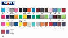 Jerzees Color Chart The Transfer Connection Screenprinting Embroidery Sports