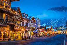 Leavenworth Lighting Leavenworth Washington During The Annual Leavenworth S