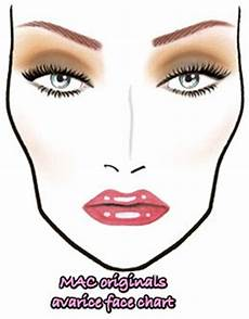 Face Chart Brown Be Brown Not Boring With Mac Originals Makeup And