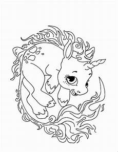 Malvorlagen Unicorn Baby Baby Unicorn Coloring Pages Bubakids
