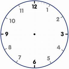 Free Printable Clocks Printable Clock Face Template Business