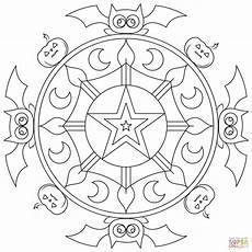 halloween mandala coloring pages halloween mandala coloring page free printable coloring