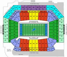 Ford Stadium Seating Chart Seating Detroit Lions Tickets