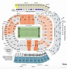 Tamu Football Seating Chart Lsu Tiger Stadium Seating Chart Seat Row Club Info
