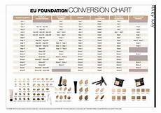 Mary Foundation Conversion Chart 2018 Foundation Colour Chart Mary Cosmetics Pinterest