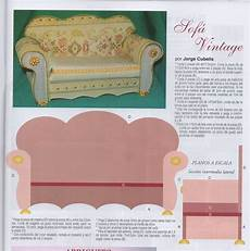 Miniature Sofa 3d Image by 375 Best 3d Paper Doll Furniture Toys Templates Images On