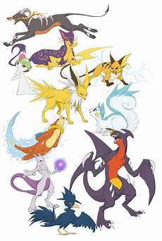 Garchomp Evolution Chart Pokemon Doodles Batch 1 By Majime On Deviantart