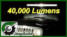 40000 Lumen Led Light Bar 40 000 Lumen Light Bar Youtube