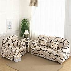 Cover Para Sofa 3d Image by 1 2 3 4 Seat Plush Stretch Sofa Cover Big
