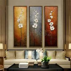3pcs colorful flower canvas abstract painting print
