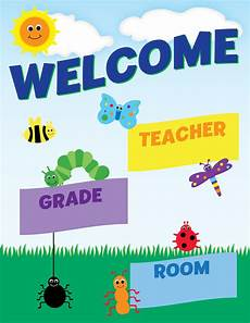 Welcome Chart For Classroom Classroom Welcome Poster