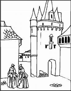 n 20 kleurplaten kastelen