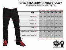 Boys Jeans Size Chart Shadow Vultus Skinny Jeans Close Up The Shadow Conspiracy
