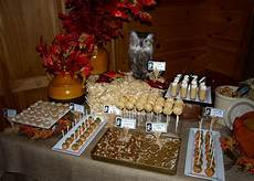 a style fall festival dessert table