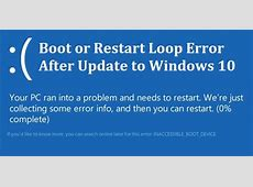 Methods to Repair Windows 10 Recovery Loop Error without a