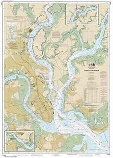 Charleston Sc Nautical Charts Themapstore Noaa Charts Florida 11524 Charleston Harbor