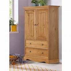 shop monty 2 drawer 2 door solid pine storage cabinet