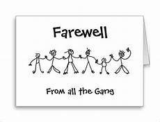 Goodbye Card Template 16 Farewell Card Template Word Pdf Psd Eps Free