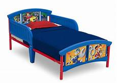 mickey mouse plastic toddler bed delta children