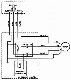 Figure 7 Air Compressor Wiring Diagram