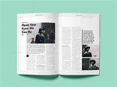 Magazine Template Cofune Magazine 40 Pages Indesign Template By Danibernd