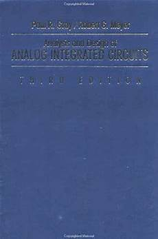 Analysis And Design Of Analog Integrated Circuits Pdf Download Analysis And Design Of Analog Integrated Circuits By