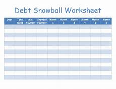 Snowball Worksheet Debt Snowball Worksheet Image Tinkering With Coupons