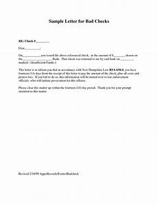 Insufficient Funds Letter To Customer Bad Check Letter Template Charlotte Clergy Coalition