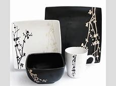 My Favorite Black and White Dinnerware Sets