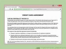 Apr Calculator Credit Card How To Calculate The Apr On A Credit Card 9 Steps With